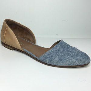 Toms Jutti D'Orsay Flat Shoes